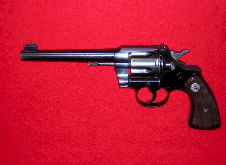 Colt Officer's Model Target in 38 caliber (Ref # 1623)