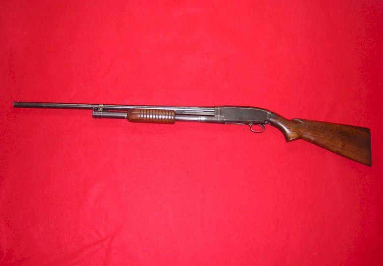 Winchester Model 12 in 16 ga (ref # 1689)