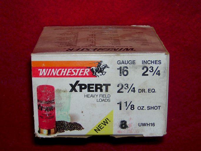 Winchester 16 gauge shotgun shells