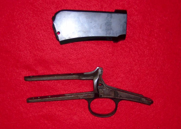 Winchester 1890 Receiver and Trigger Guard WRF (Ref # 1755)