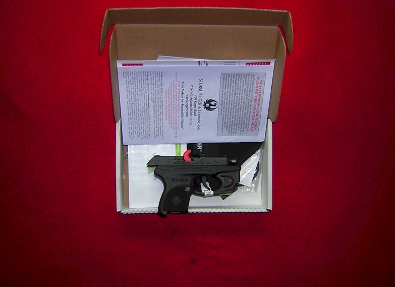 Ruger LCP with Laser sights in .380 (Ref #1918)