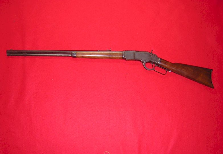<b>~~~SOLD~~~</b><br>WWinchester 1873 Sporting Rifle in 32-20 (ref # 1964)