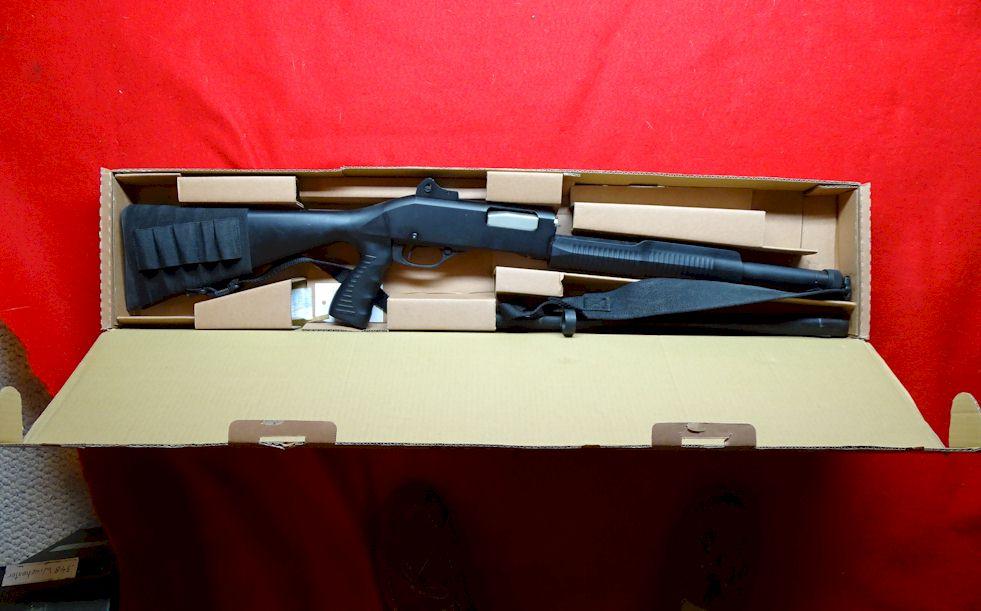 Stevens Model 320 Pump 12 ga Shotgun NIB (ref # 2160)