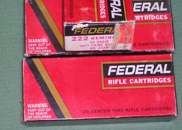 Federal Cartridges 222