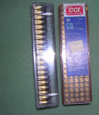 CCI 22 SHORT bullets