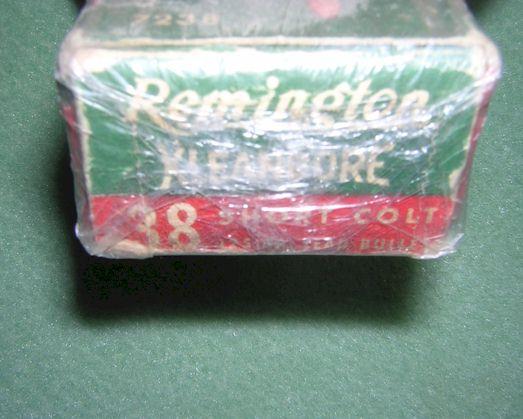 Remington 38 Short Colt