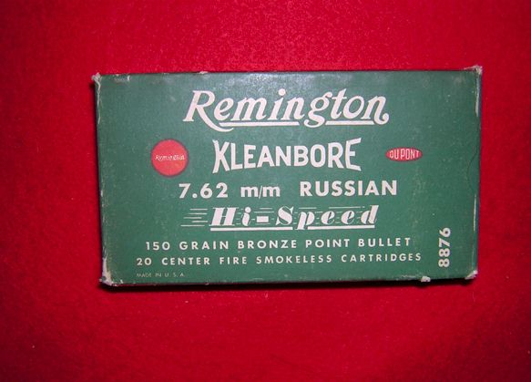 Remington Antique 7.62 m/m Russian