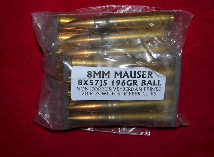 8mm Mauser Ammunition (8X57JS) Homestead Firearms