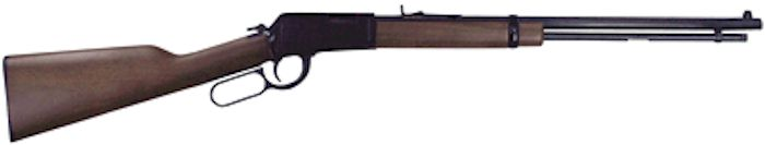 Lever Rifle 22 Mag 20 inch Ocatgonal Barrel Walnut (H001TM)