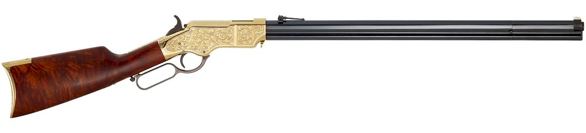 The DELUXE ENGRAVED Henry Original Rifle 44-40 (H011D)
