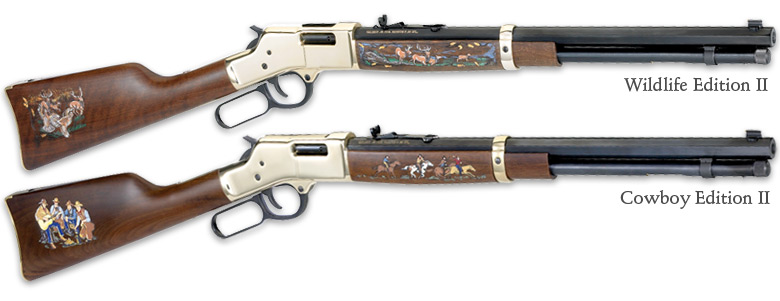 Henry Big Boy Special Editions II Cowboy and Wildlife(H006-)