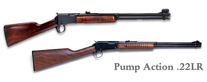 Henry Pump Action .22 (H003T)