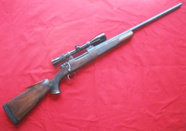 FN Juenke Saturn .243 Custom Rifle