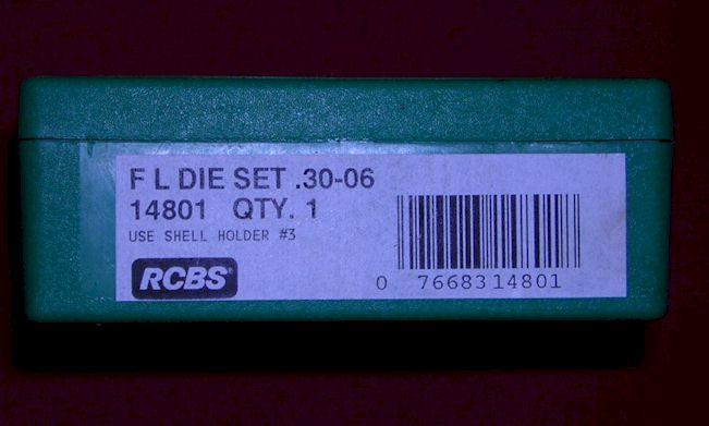 RCBS 30-06 dies