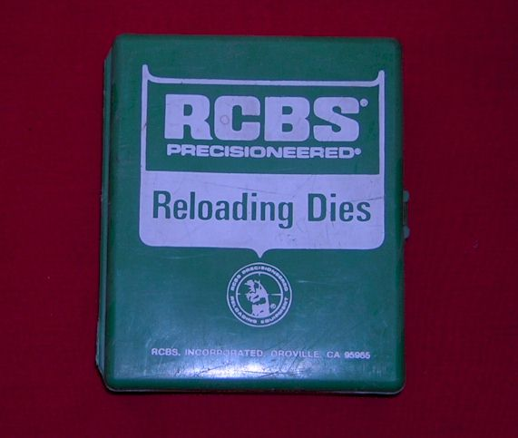 .222 RCBS reloading dies