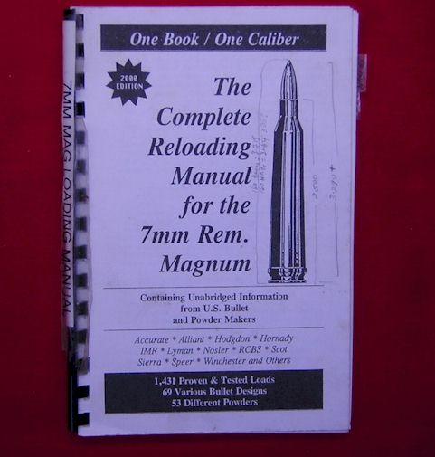Reloading Manual, 7mm Remington Magnum