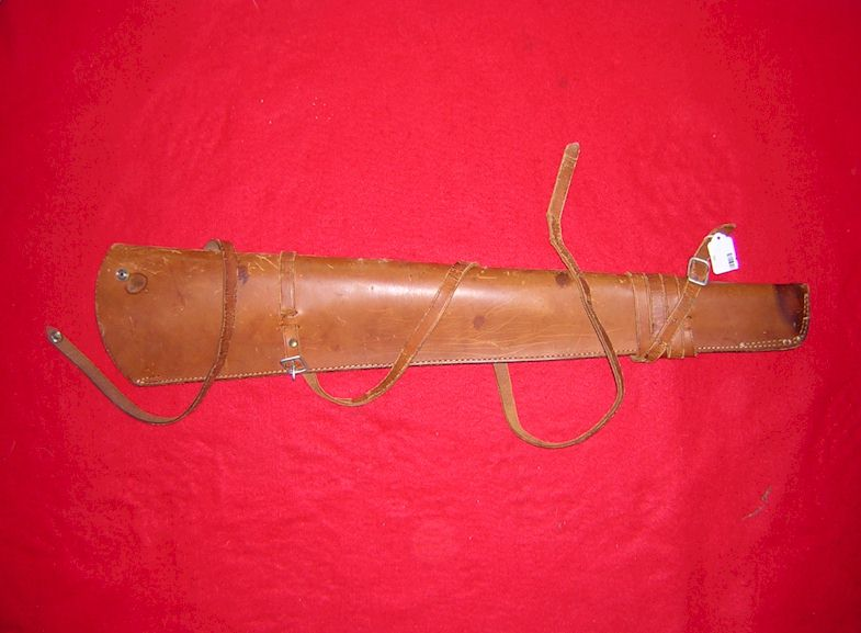 <b>~~~SOLD~~~</b> Saddle scabbard for carbine rifle