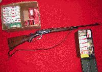 Winchester Model 71 Deluxe (Ref # 1660)