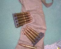 303 British Ammunition Bandolier