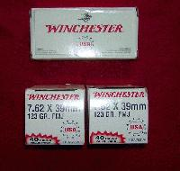 <b>~~~SOLD~~~</b><br>SKS Norinco 7.62X39 Winchester ammunition