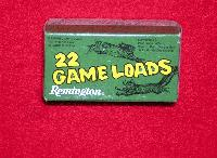 22 Long Rifle - Game Loads