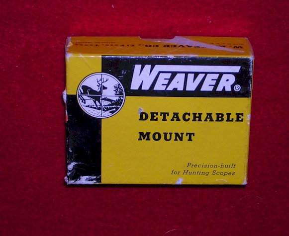Weaver Scope Mount Box